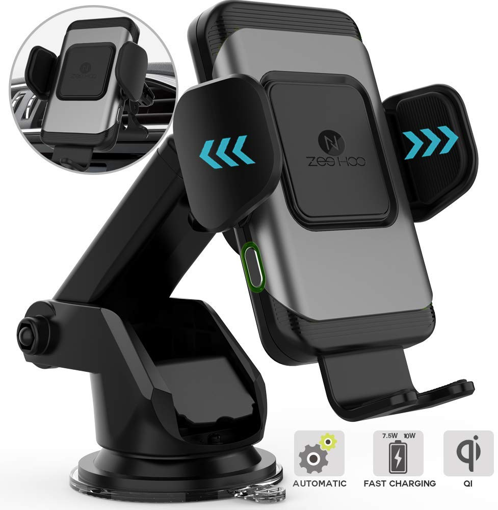ZeeHoo Wireless Car Charger,10W Qi Fast Charging