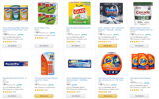 Limited-time offer – Save $15.00 when you spend $50.00. On select items Offered by Amazon.com