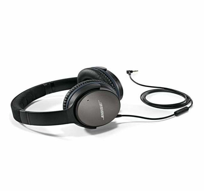 Lightning Deal – Bose QuietComfort 25 Acoustic Noise Cancelling Headphones for Android devices – Black (Wired) for $99.99