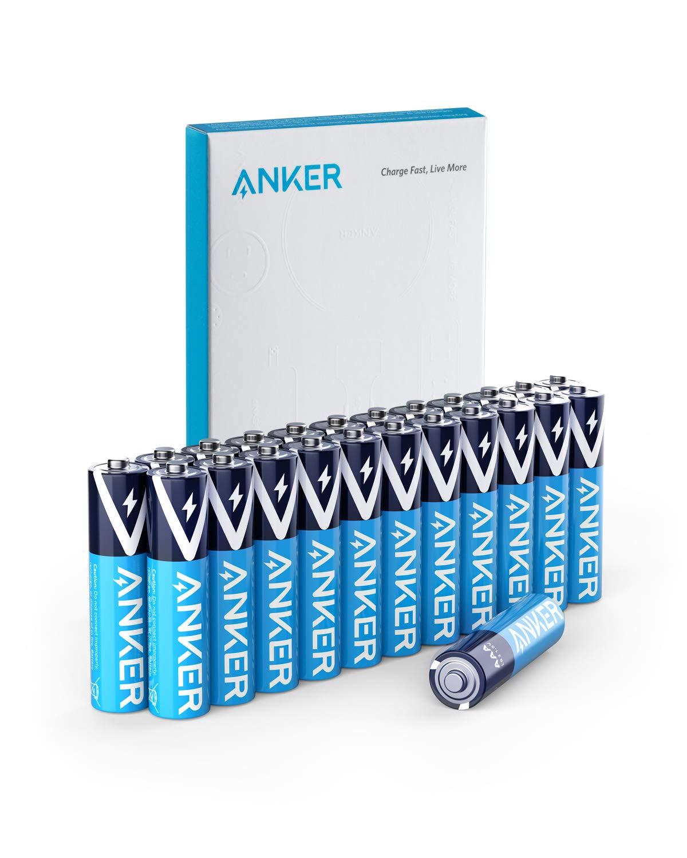 Anker Alkaline AA or AAA Batteries (24pk) $6.49 – $8.49  (23% – 28%)