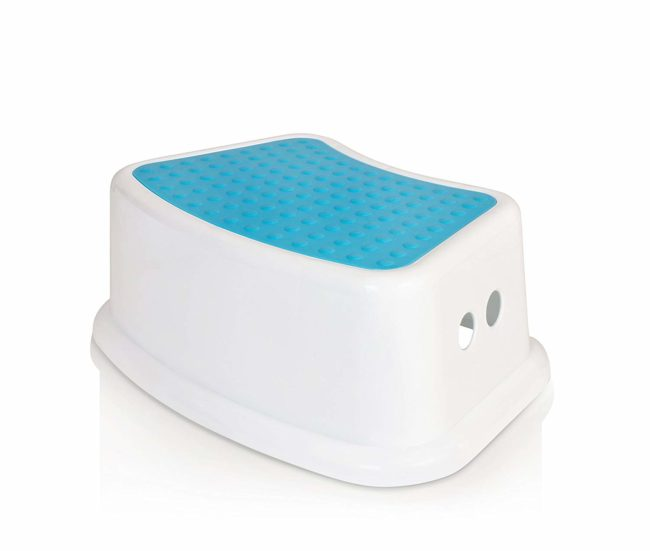 Lightning Deal – Kids Best Friend Boys Blue Step Stool, Take It Along in Bedroom, Kitchen, Bathroom and Living Room. Great For potty Training! for $8.06