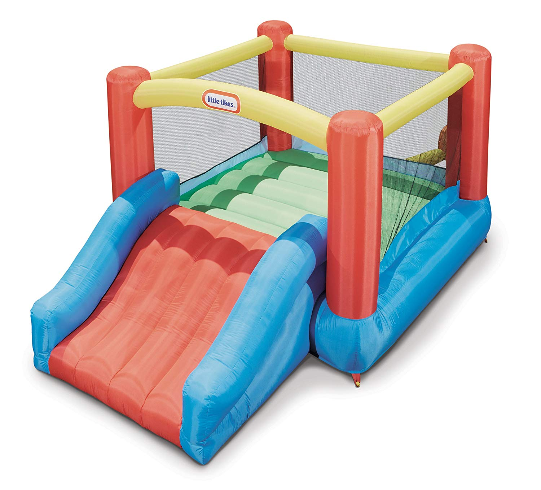 Little Tikes Jr. Jump 'n Slide Bounce