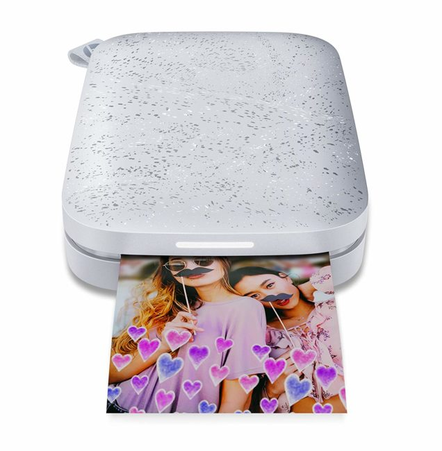 HP Sprocket Portable Photo Printer (2nd Edition) – Instantly Print 2×3 Sticky-Backed Photos from Your Phone for $49.85